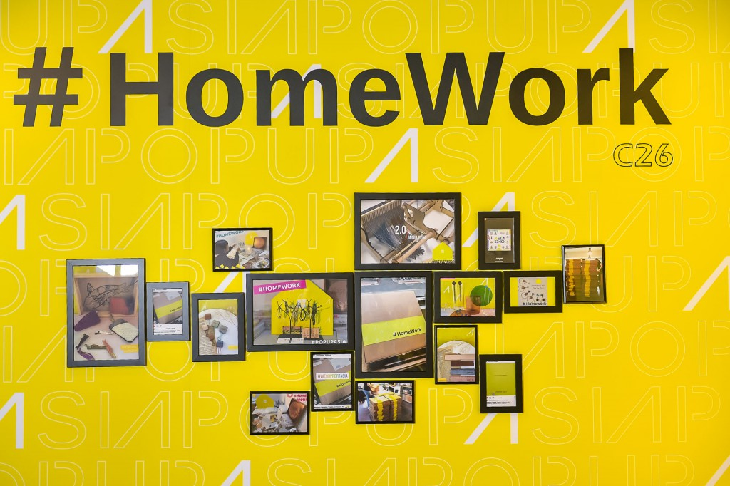Home work 主題展區   圖/Pop Up Asia