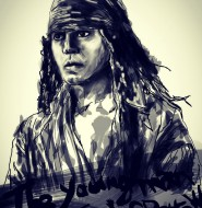 The young man Jack Sparrow