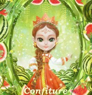 ★【水果果醬畫框Confiture系列】 Fruit Confiture Fairy西瓜